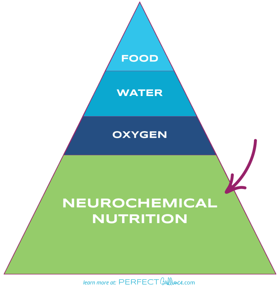 Learn more about neurochemical nutrition at PerfectBrilliance.com